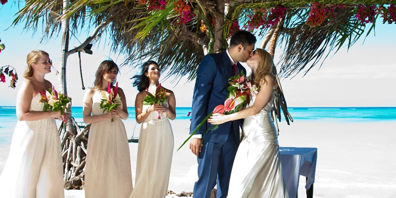 Wedding party offer Mauritius e Seychelles