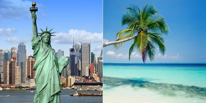 New York e Santo Domingo