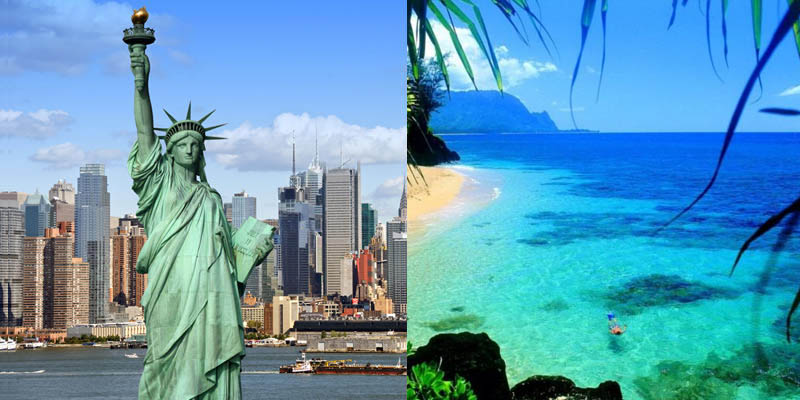 New York e Messico