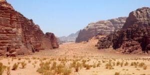 Valle di Wadi Rum